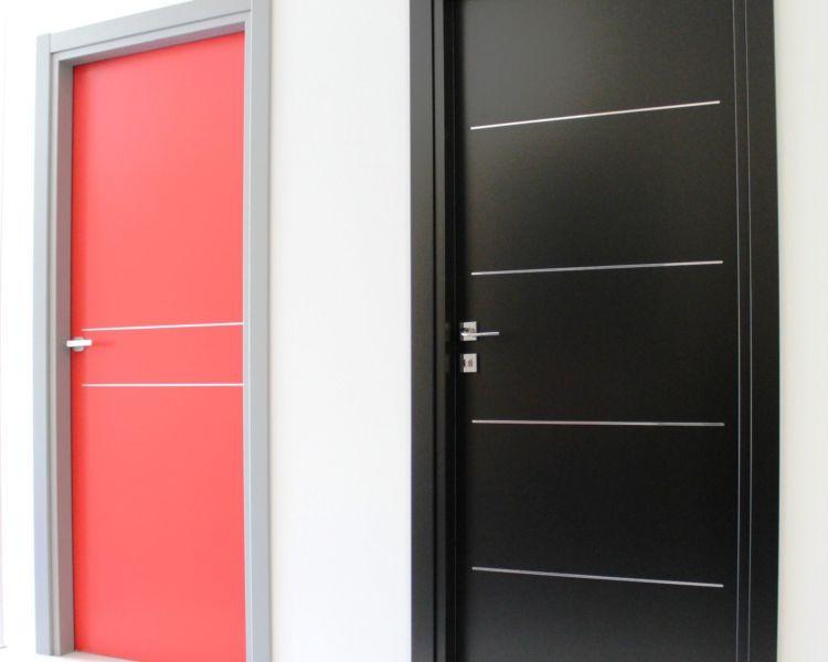 Gammes de produits la porte contemporaine for Hauteur bloc porte standard